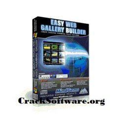 Easy Web Gallery Builder 2.2 Crack key Free Download