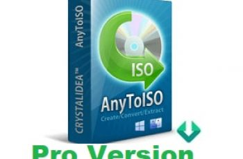 AnyToISO Pro Crack with Registration Code Free Download