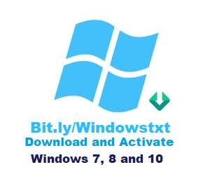 Bit.lyWindowstxt Free Download Windows 7, 8 Windows 10
